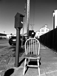 chair bw
